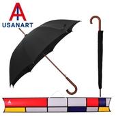 우산아트 60 우드 곡자손 우산