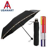 우산아트 3단 체크바이어스 우산