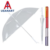 우산아트 60 8K 일자손 비닐우산