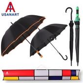 우산아트 60컬러바이어스+55컬러곡자 우산2P세트