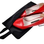 블랙 신발주머니