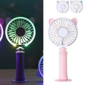 (정품) LED고양이 핸디선풍기/휴대용