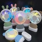LED 휴대용 선풍기