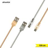 아웨이 CL-400 Micro 5핀 고속충전 / 데이터케이블