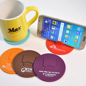 컵받침 스마트폰 거치대(원형)