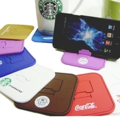 컵받침 스마트폰 거치대(사각)