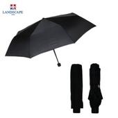 랜드스케이프우산 3단폰지칼라/블랙 3단우산