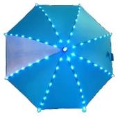 안전을 위한 엘이디 LED우산