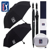 PGA 2단자동+3단수동 엠보+70자동 엠보선염 우산세트