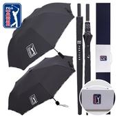 PGA 2단자동+3단수동 로고바+75수동 로고바 우산세트