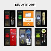 세인트 블랙라벨 3구 선물세트 (3pc) 무광 유광 볼마커 잔디보수기 양말 장갑