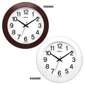로니카 우드와이드 무소음시계 R400WA/WW