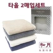 송월 코마40수무지(160g) 2매입세트