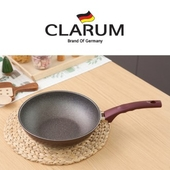 독일 크라움 [CLARUM] 열센서 스톤코팅 인덕션 궁중팬 26cm