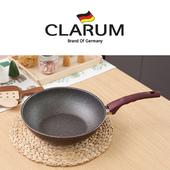 독일 크라움 [CLARUM] 열센서 스톤코팅 인덕션 궁중팬 28cm