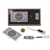 [USB세트/명함지갑/명함지갑세트] 삼족오자개명함+가띠메탈USB 8GB