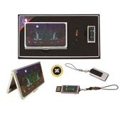 [USB세트/명함지갑/명함지갑세트] 일월오봉도자개명함+가띠메탈자개USB 8GB