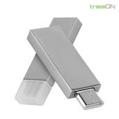 트리온 메탈 C타입 OTG USB 64G
