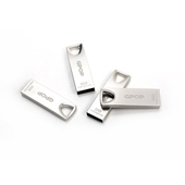 GPOP 샤인실버 메탈 USB 메모리 8G