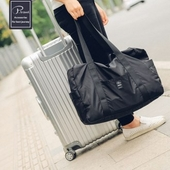 피트래블 폴딩백 지퍼형 Ver.2 캐리어 보조가방