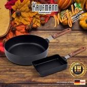 독일 카우프만 [kaufman] 메이플 IH단조 팬 2P 세트(A형)