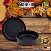독일 카우프만 [kaufmann] 메이플 IH 단조 팬 2P 세트(C형)