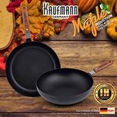 독일 카우프만 [kaufmann] 메이플 IH 단조 팬 2P 세트(D형)