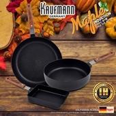 독일 카우프만 [kaufmann] 메이플 IH 단조 팬 3P 세트(A형)