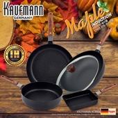 독일 카우프만 [kaufmann] 메이플 IH 단조 팬 5P 세트