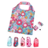 [시장가방] 패턴 시장가방 접이식 가방