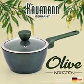 독일 카우프만 [kaufmann] 올리브인덕션 냄비 18cm 편수