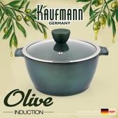 독일 카우프만 [kaufmann] 올리브 인덕션 냄비 20cm 양수