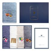 송월 명절놀이 4매 선물세트+쇼핑백 s