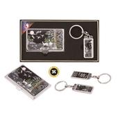 [명함지갑/명함지갑세트/열쇠고리세트] 채색십장생자개명함+열쇠고리