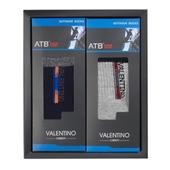 발렌티노 ATB-100 파일중목 스포츠양말(남) 2족세트