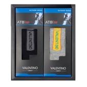 발렌티노 ATB-100 파일중목 스포츠양말(여) 2족세트