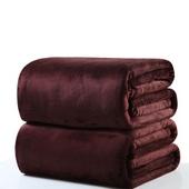 극세사 담요 150*200 대형 브라운