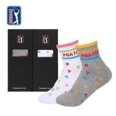 [PGA]골프스포츠양말 여성용 1족(색상선택)