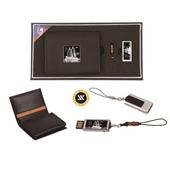 [명합지갑세트/USB세트] 거북선자개가죽명함+가띠자개USB(8GB~64GB)