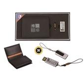 [명합지갑세트/USB세트] 수복문자가죽명함+가띠자개USB(8GB~64GB)