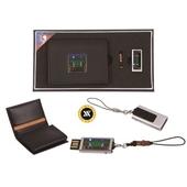 [명합지갑세트/USB세트] 일월오봉도자개가죽명함지갑+가띠메탈자개USB(8GB~64GB)