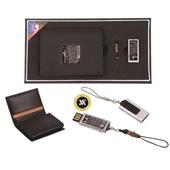 [명합지갑세트/USB세트] 훈민정음가죽명함+가띠자개USB(8GB~64GB)