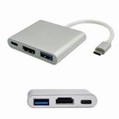 아이존이십일 USB Type C to HDMI 컨버터 (EZ-MH3)