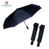 랜드스케이프우산 3단전자동반사띠바이어스 우산