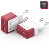 FOR LG 2포트 USB 어댑터 충전기 2.1A