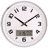 국민캘린더온도무소음벽시계-주피터JS6017