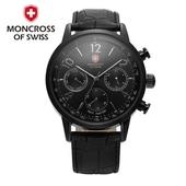 몽크로스시계 손목시계6001블랙