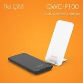 리큐엠 2in1 고속무선충전기 QWC-P100
