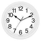 라운드화이트벽시계[29CM]