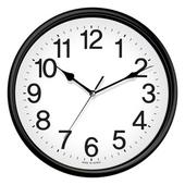 라운드블랙벽시계[29CM]